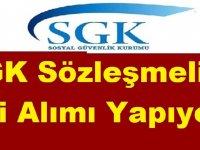 SGK Sözleşmeli İşçi Alımı Yapıyor!
