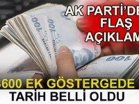 AK Parti'den 3600 Ek Gösterge Hakkında Son Dakika Açıklaması
