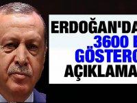 Cumhurbaşkanı Erdoğan'dan 3600 Ek Gösterge Hakkında Yeni Açıklama