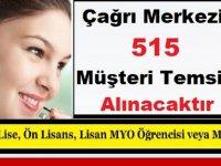 Çağrı Merkezine İŞKUR tarafından 515 Müşteri Temsilcisi Alınacaktır