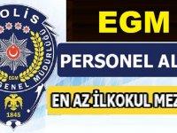 İzmir Emniyet Müdürlüğü En Az İlkokul Mezunu Kamu İşçisi Alımı