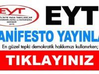 EYT den 31 Mart yerel seçim manifestosu