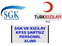 Kızılay 2019 Personel Alımları- SGK 2019 Personel Alımları - İş İlanları 2019