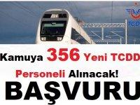 Devlet Demiryolları 356 İşçi Alımı Yedek Aday Atama Duyurusu
