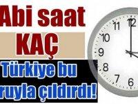 """""""Türkiye'de saat şu an kaç?"""" ve """"Saatler ileri alındı mı?"""""""