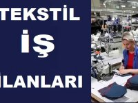 Tekstil Elemanı , Overlokçu,Dikiş Elemanı, dikiş makinesi operatörü İşkur iş ilanları 2019