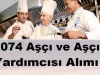 İşkur İş İlanları 2019 - 1074 Aşçı ve Aşçı Yardımcısı Alımı