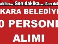 Ankara Büyükşehir Belediyesi KPSS Şartsız En Az İlkokul Mezunu 50 Personel alımı