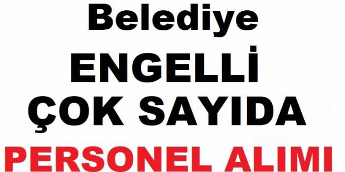 İstanbul Beyoğlu Belediyesi Engelli Çok Sayıda Belediye Personel Alımı