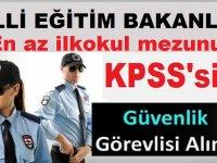 İstanbul Zeytinburnu Milli Eğitim Müdürlüğü MEB Güvenlik Görevlisi Alımı