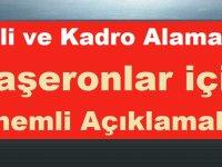 4/D'li ve Kadro Alamayan Taşeronlar için Önemli açıklamalar