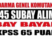 Kamuya Bay Bayan 455 Subay Alımı - 2019 Askeri Personel alımları
