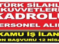 Türk Silahlı Kuvvetleri Mühimmat Tesisi Müdürlüğü Kadrolu Kamu İşçi Alımı