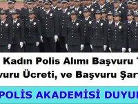 24. Dönem POMEM Kadın Polis alımı Başvuruları Devam ediyor