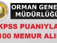 Tarım ve Orman Bakanlığı KPSS ile 1100 memur ve şoför alımı