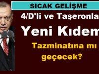 4/D'li ve Taşeronlar Yeni Kıdem Tazminatına mı geçecek?