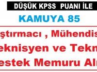 Türkiye Savunma Sanayii 85 Araştırmacı , Mühendis ve Teknisyen ve Teknik Destek Memuru Alımı