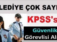 İstanbul Beykoz Belediyesi 25 Silahlı Silahsız Güvenli Görevlisi Alıyor