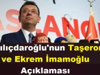 Kılıçdaroğlu'nun Taşeron ve Ekrem İmamoğlu Açıklaması