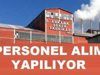 Ankara Şeker Fabrikası Eski Hükümlü İşçi Alıyor