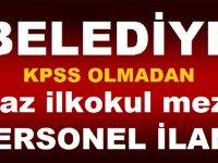 Zonguldak Ereğli Belediyesi Daimi Kadrolu Şoför ve Sekreter Alıyor