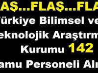 Türkiye Bilimsel ve Teknolojik Araştırma Kurumu Başkanlığı (TÜBİTAK) Silahlı Güvenlik Görevlisi Alımı İş İlanı