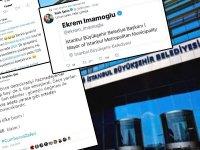İBB Belediye Başkanı Ekrem İmamoğluna Belediye Çalışanlarından hakaret