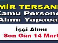 İzmir Tersanesi daimi kamu personeli alımı