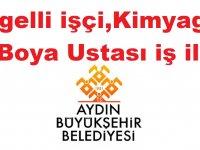 Aydın Büyükşehir Belediyesi Engelli işçi,Kimyager ve Boya Ustası iş ilanı
