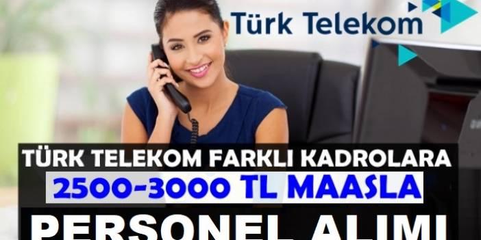 Türk Telekom Çok Sayıda İş ilanı