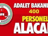 Adalet Bakanlığı 400 Memur Alımı Soru ve Cevapları