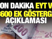 Son Dakika Eyt ve 3600 Ek Gösterge Açıklaması