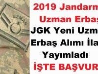 2019 JGK Uzman Erbaş Alımı İlanı Yayımladı! İşte Başvuru Şartları