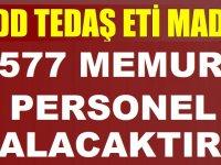 TCDD TEDAŞ Eti Maden 577 Memur Alımı YAPACAKTIR