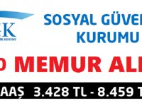 SOSYAL GÜVENLİK 400 DENETMEN YARDIMCILIĞI GİRİŞ SINAVI DUYURUSU