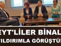 EYT Başkanı ve Heyeti Binali YILDIRIM'la Görüştü