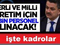 KPSS ile Tarım Bakanlığına 5 Bin Memur Alınacaktır