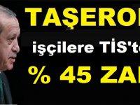 Taşeron işçilere TİS'ten % 45 ZAM