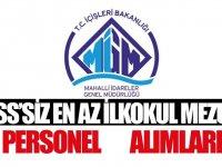 Belediyeler KPSS'siz genel işler personeli alımları