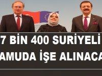işkur projesi ile Suriyeliler işe alınacak