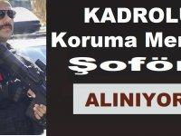 Türkiye Bilimsel ve Teknolojik Araştırma Kurumu Koruma ve Şoför ilanı