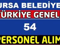 Bursa Büyükşehir Belediyesi Daimi ve Geçiçi Cankurtaran,İdari Memur,Temizlikçi ve Spor Antrenör Alıyor