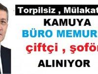 Belediyeler  ve MEB Torpilsiz Kura ile Çok Sayıda Kamu Personel Alıyor