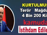 4 bin 200 kişi Sur ve Cizre'de istihdam edilecek