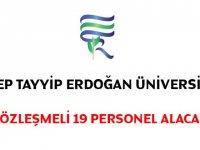 Tayyip Erdoğan üniversitesi hemşire ve tekniker alıyor