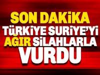 Türkiye Esad'a bağlı 'Suriye Rejim Güçlerini' vurdu