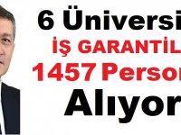iş Garantili 6 Üniversite 1457 Öğrenci Alıyor