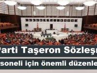 AK Parti'den yeni torba teklif! Taşeron Sözleşmeli personeli için önemli düzenleme