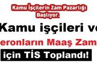 Kamu işçileri ve taşeronların maaş zamları için TİS Toplandı!