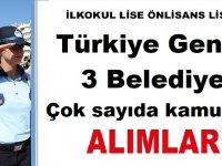 Geyikli Belediye Başkanlığı, Muratpaşa Belediye Başkanlığı ve Didim Belediye Başkanlığı iş ilanları 2019